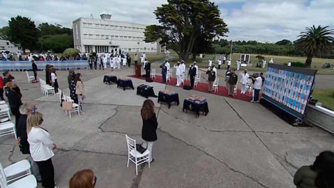 Submarino Ara San Juan: realizaron un homenaje a los 44 tripulantes a tres años del hundimiento