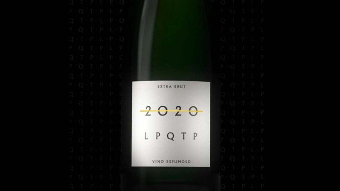 2020 LPQTP, el vino espumante para despedir este año especial con todas las letras