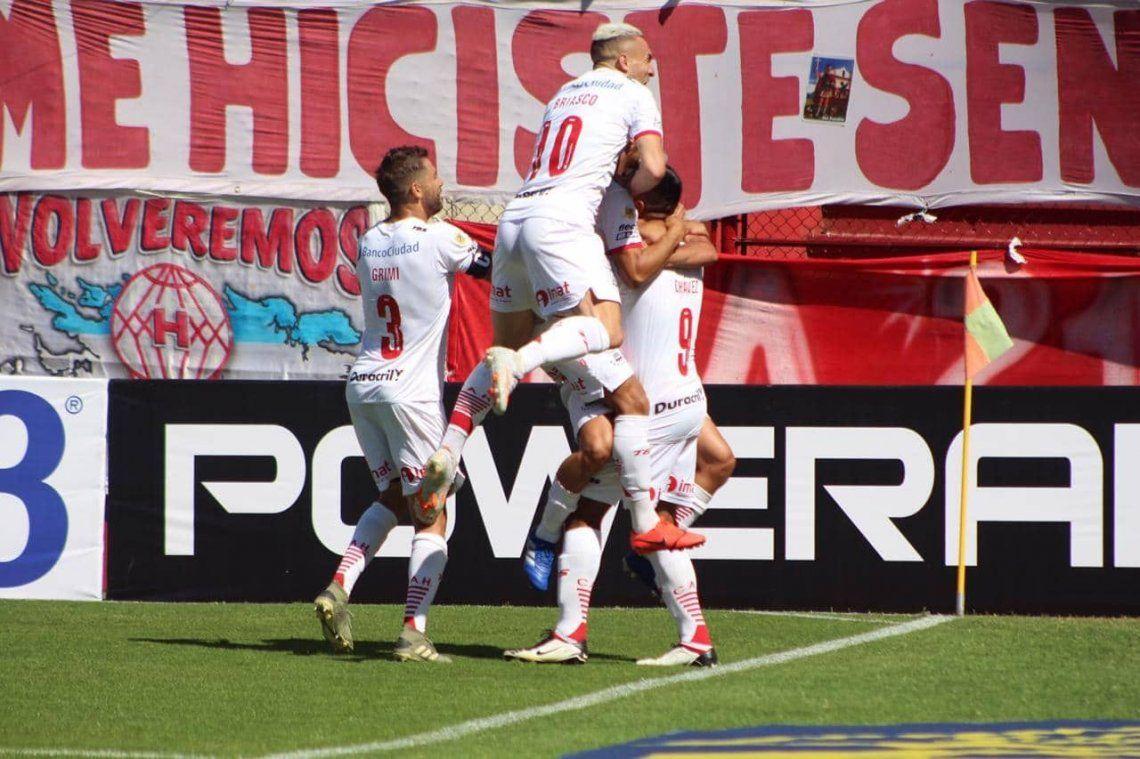 Copa de la Liga Profesional   Huracán le ganó a Gimnasia y quedó como único líder de la Zona 6