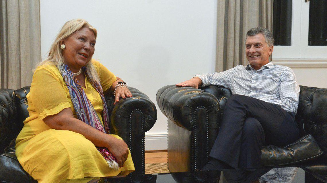 Lilita Carrio no le hablará más a Macri porque el expresidente le faltó el respeto