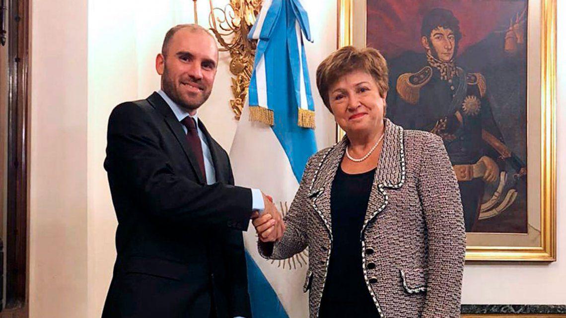 Martín Guzmán dio negativo de coronavirus tras reunirse con un funcionario del FMI que estaba infectado