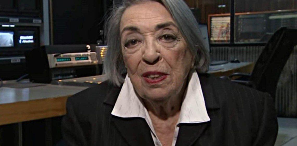 Murio Martha Tedeschi