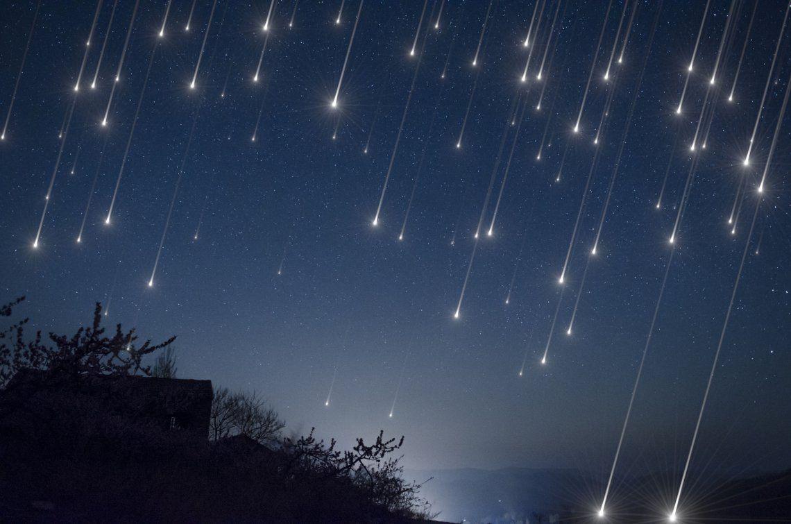 Cómo ver la lluvia de asteroides que pasará cerca de la Tierra esta semana