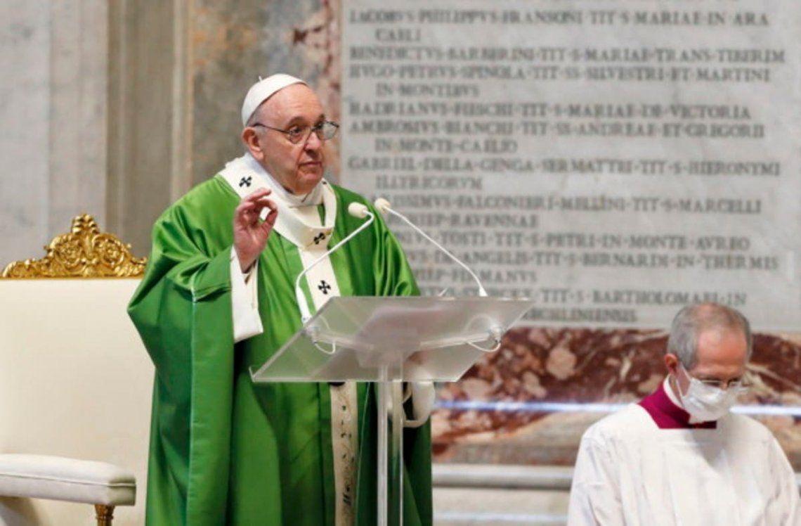 Papa Francisco: La riqueza es lo que somos, no lo que tenemos.
