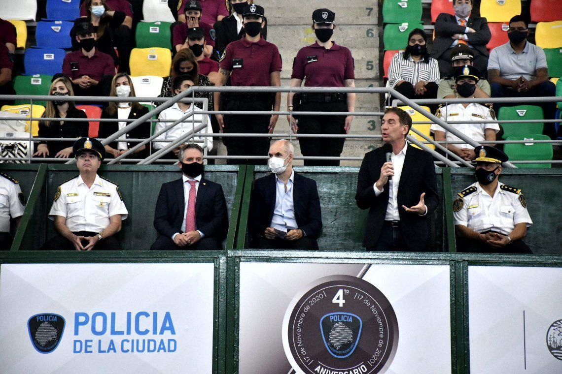 4to. Aniversario de la creación de la Policía de la Ciudad de Buenos Aires