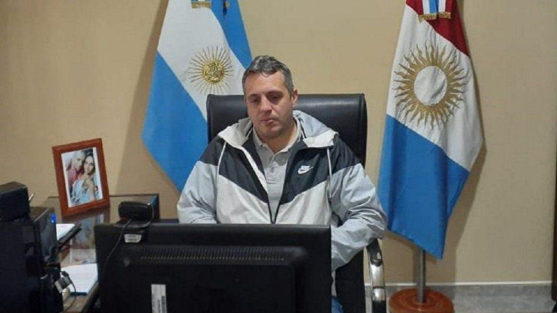 Andrés Data estaba cumpliendo su tercera gestión consecutiva