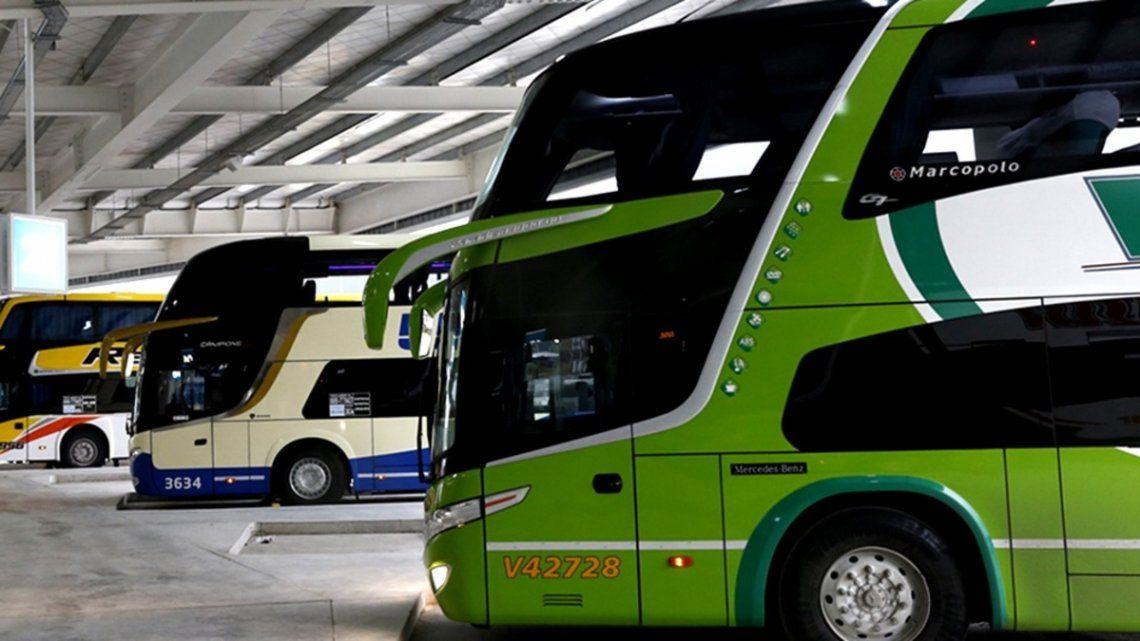 Transporte: el Gobierno definió los protocolos aplicables para micros y trenes de larga distancia