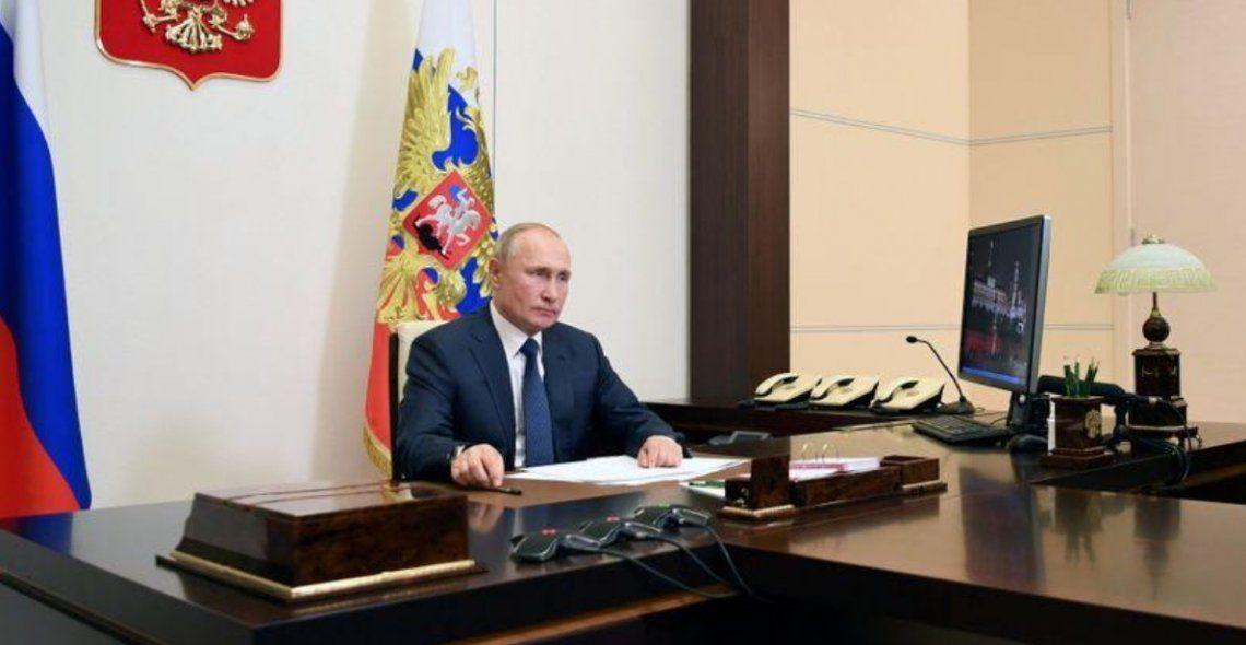 Putin aseguró que se ocupará del traslado de los refugiados a Nagorno Karabaj