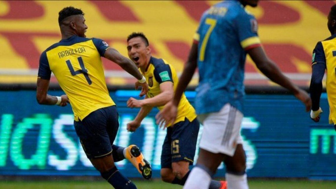 Eliminatoria Sudamericana   Ecuador goleó a Colombia 6-1 y se afianza arriba