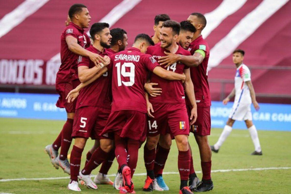 Eliminatoria Sudamericana | Venezuela dio la nota al vencer a Chile 2-1 en Caracas