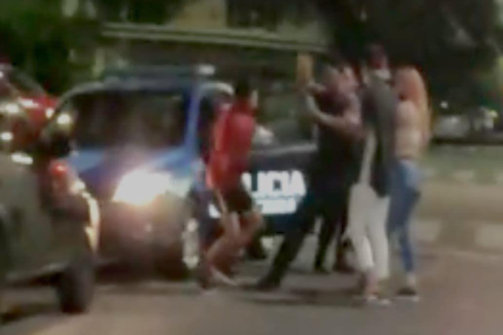 Insegutidad: Agredieron a un policía en Villa Devoto.