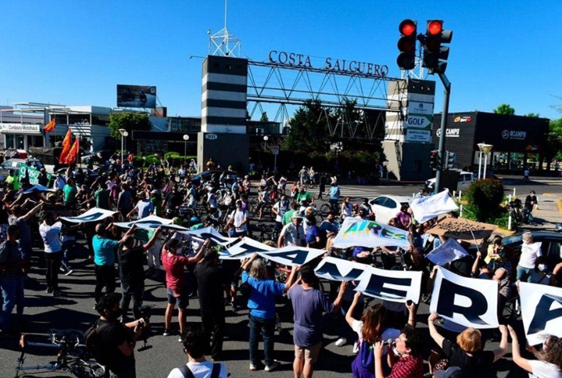 El pasado mes de octubre hubo una movilización a Costa Salguero
