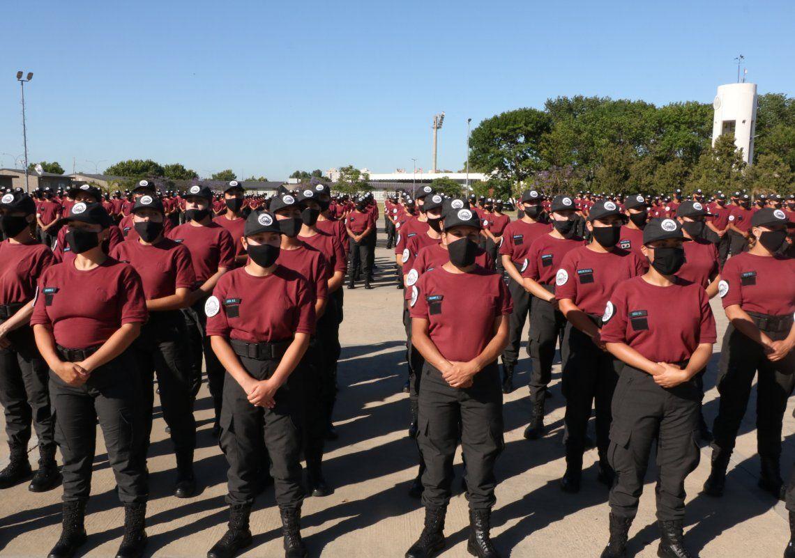 Esta cuarta promoción formada por 800 cadetes egresará dentro de 90 días.