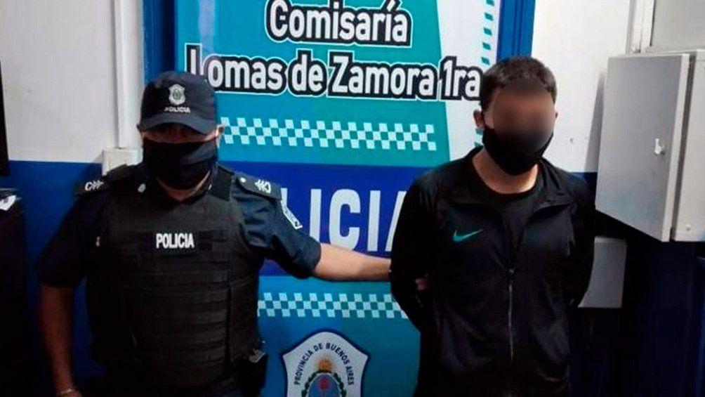 Detenidos en Lomas de Zamora.