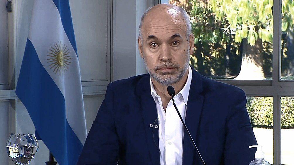 Horacio Rodríguez Larreta presentó el Presupuesto 2021 en la Legislatura porteña.