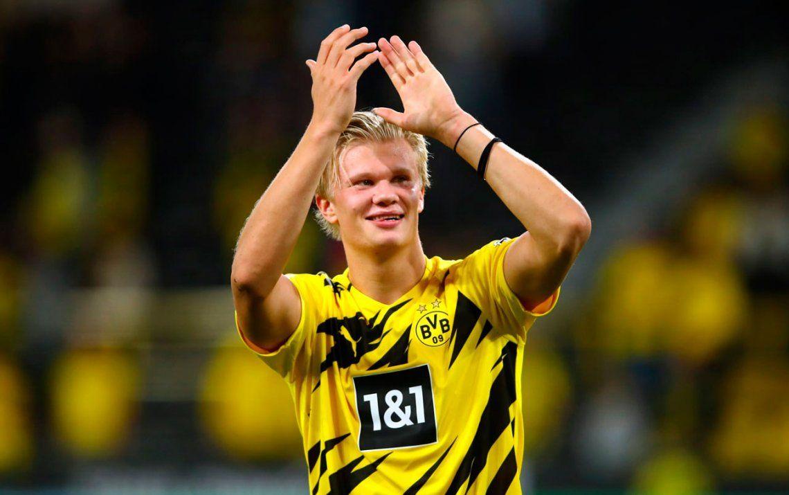 Erling Haaland del Borussia Dortmund, ganador del Golden Boy 2020