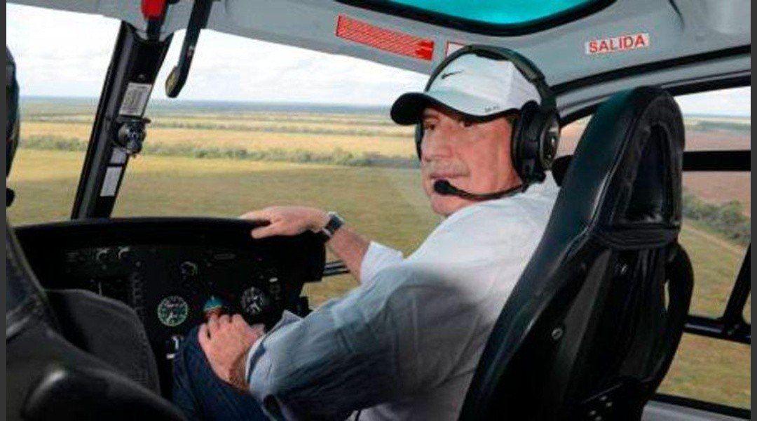 Investigan las causas de la caída del helicóptero del banquero Jorge Brito
