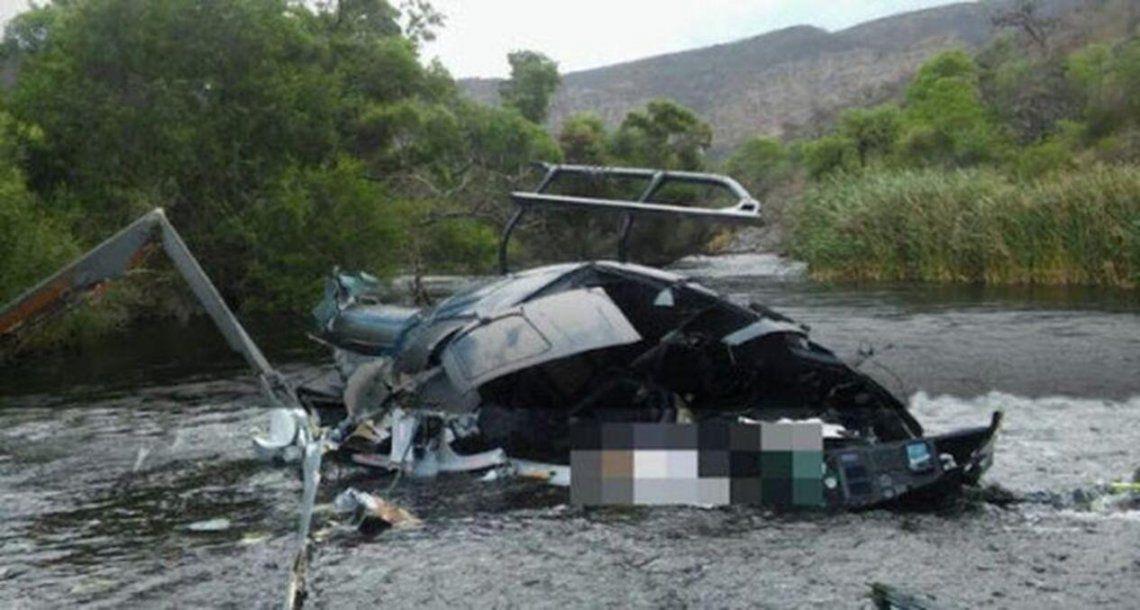El lunes estará el primer informe sobre el accidente del helicóptero de Jorge Brito
