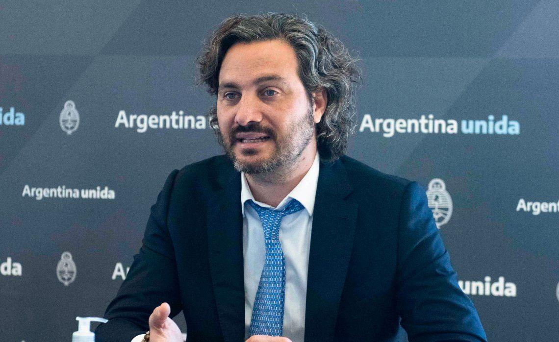 Santiago Cafiero acusó al ex presidente Mauricio Macri de actuar con cinismo y distorsionando la realidad.