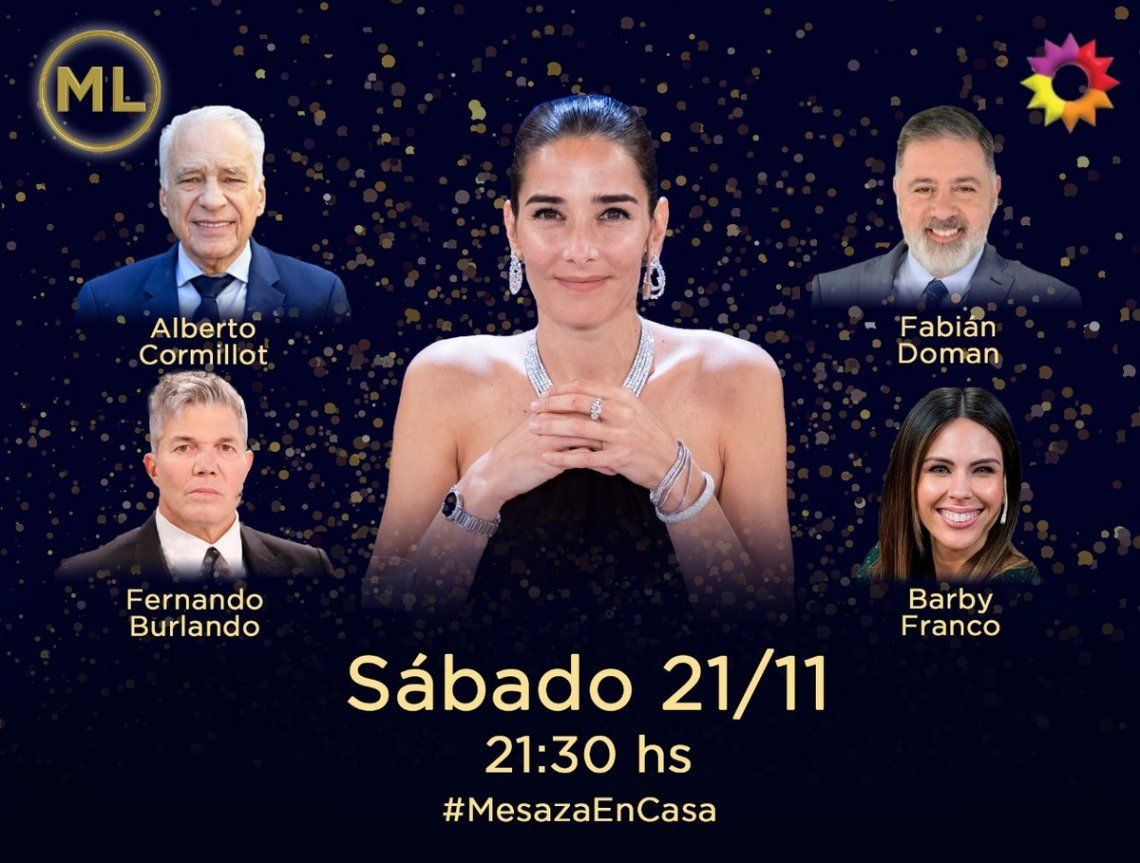 Los invitados de Juana Viale para disputar el rating.