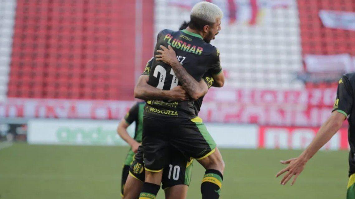 Aldosivi se impuso a Estudiantes de La Plata por 1 a 0