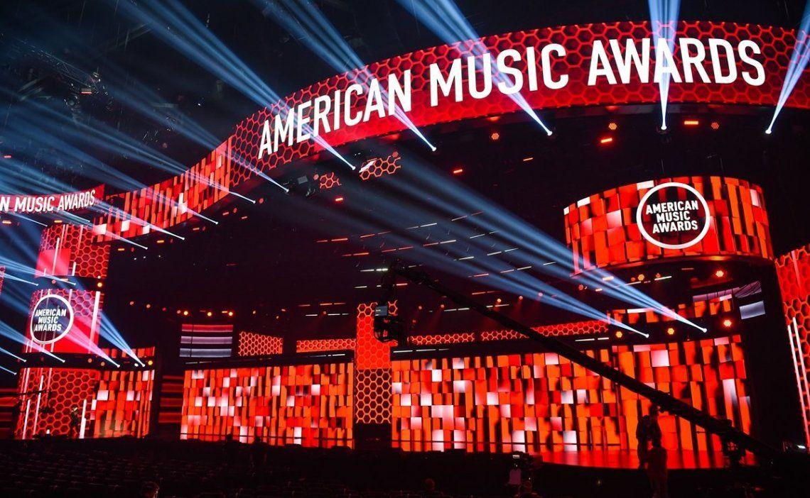 Escenario American Music Awards 2020