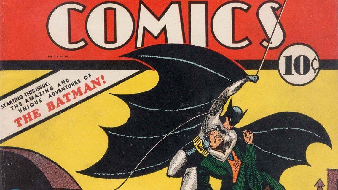 Pagó diez centavos por un comic de Batman y lo vendió por 1,5 millones de dólares