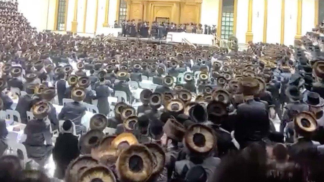 Coronavirus: boda multitudinaria en Estados Unidos.