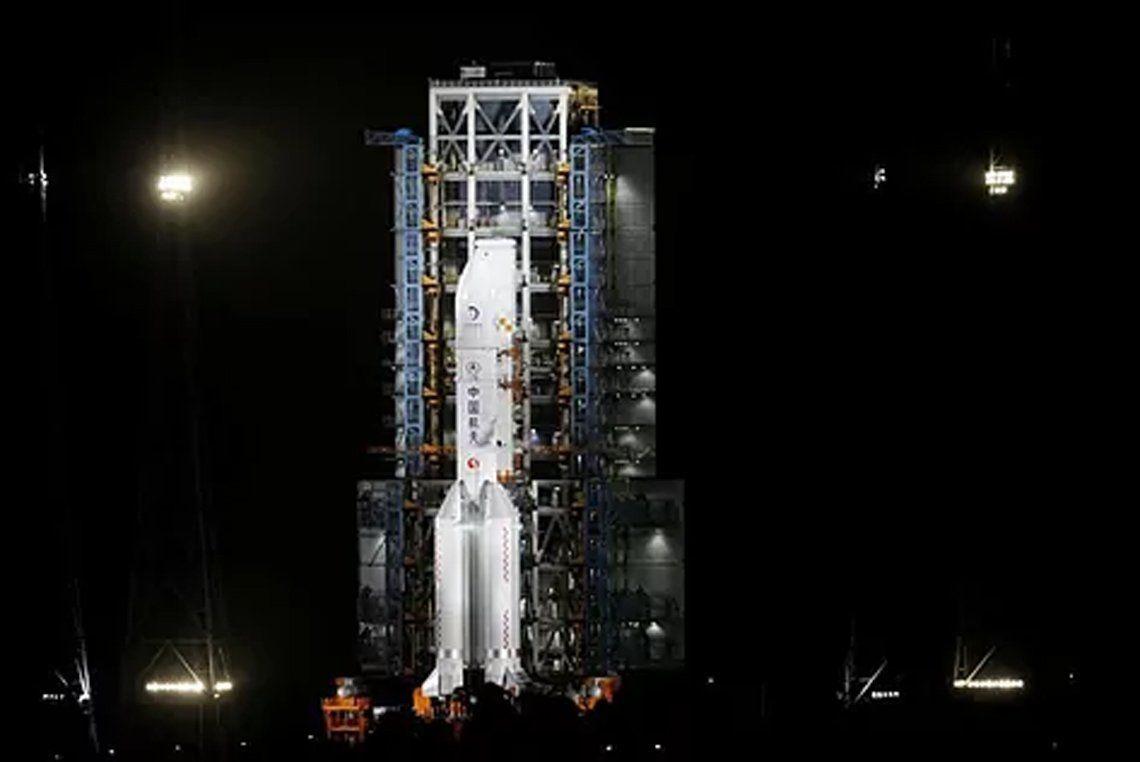China y una nueva misión espacial.