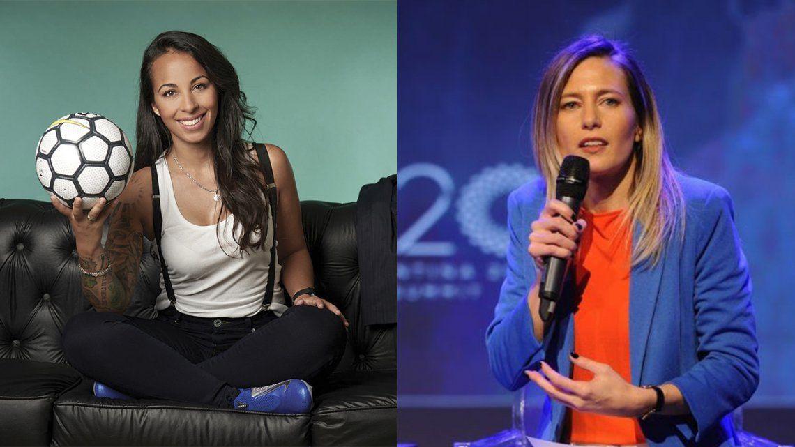 Evelina Cabrera y Carolina Castro
