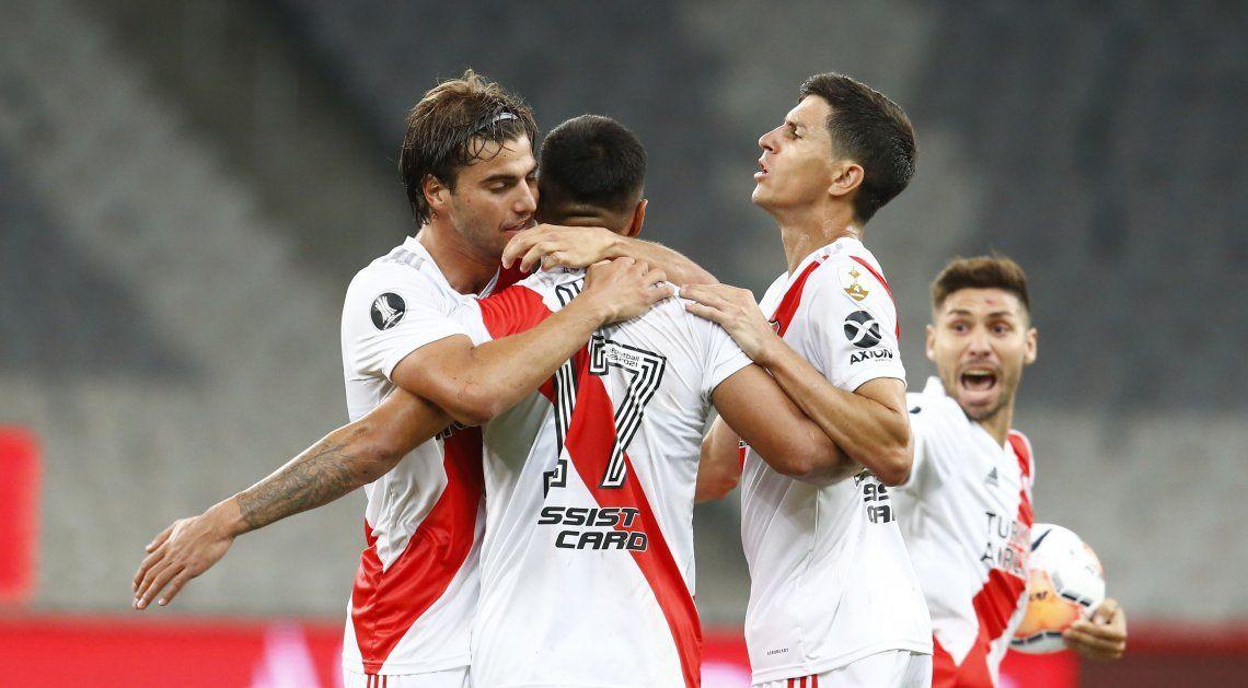 Copa Libertadores | Mereció más: River consiguió un agónico empate ante Atlético Paranaense