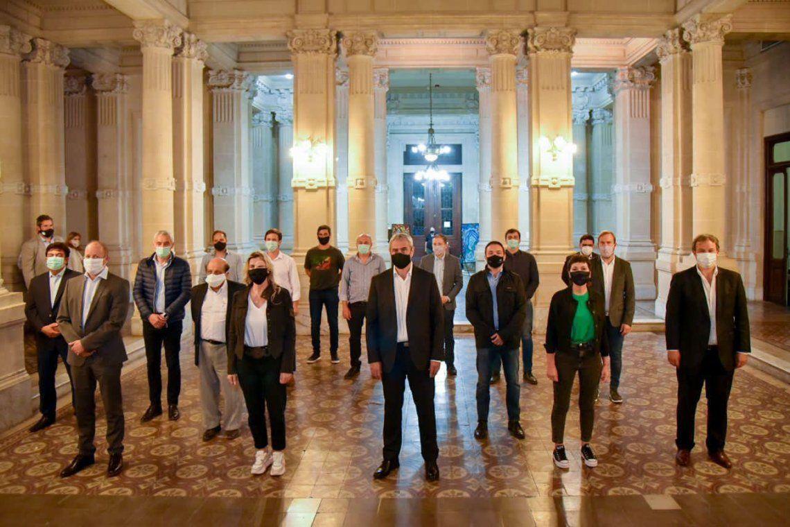 Reunión de intendentes de la Tercera Sección electoral con el ministro Ferraresi