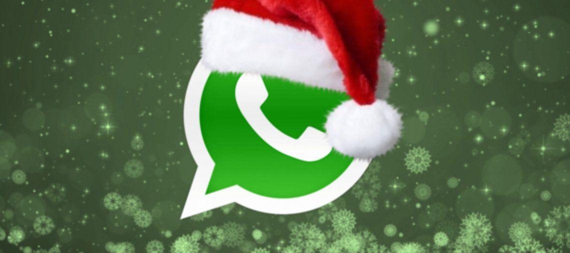 WhatsApp: trucos para aprovechar la app al máximo en Navidad