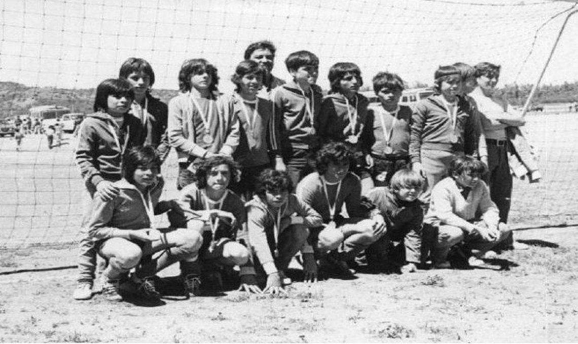 El equipo juvenil llamado Los Cebollitas brilló en la década de los 70 teniendo a Maradona en sus filas.
