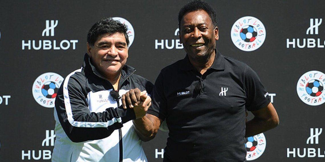 Pelé tuvo un emotivo mensaje tras la muerte de Maradona