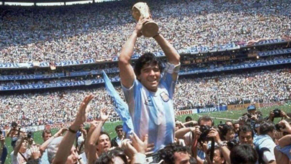 Maradona y su momento cumbre: la obtención de la Copa del Mundo de 1986