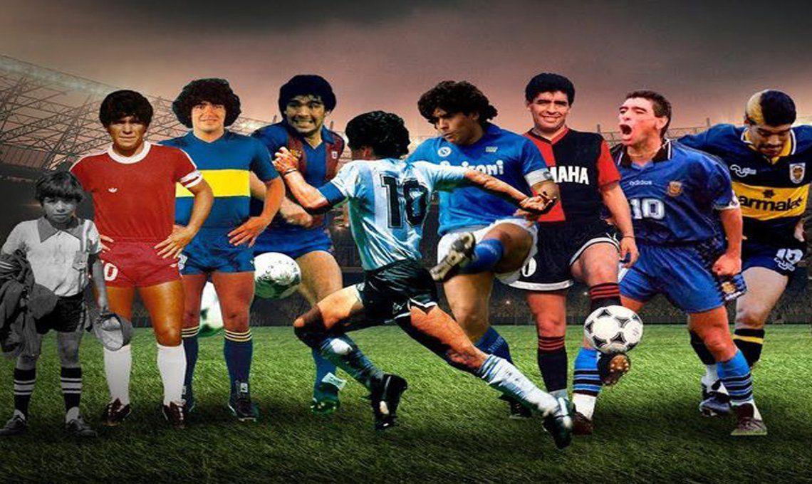 Diego Maradona: Así lo despidieron los equipos donde jugó | Maradona,  Twitter, Napoli