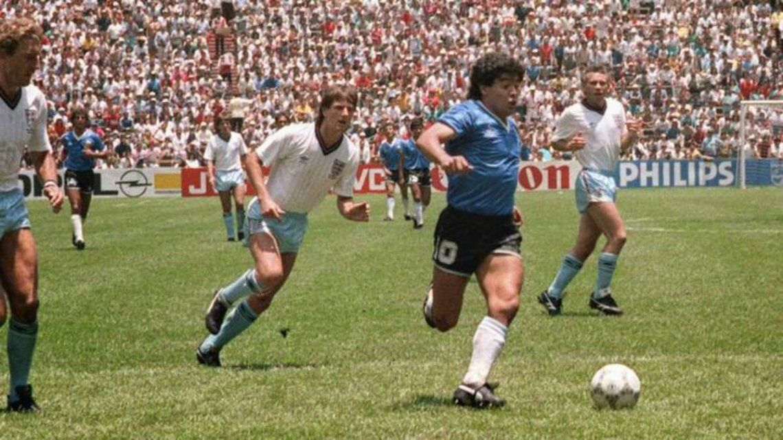 Sentido homenaje a Maradona