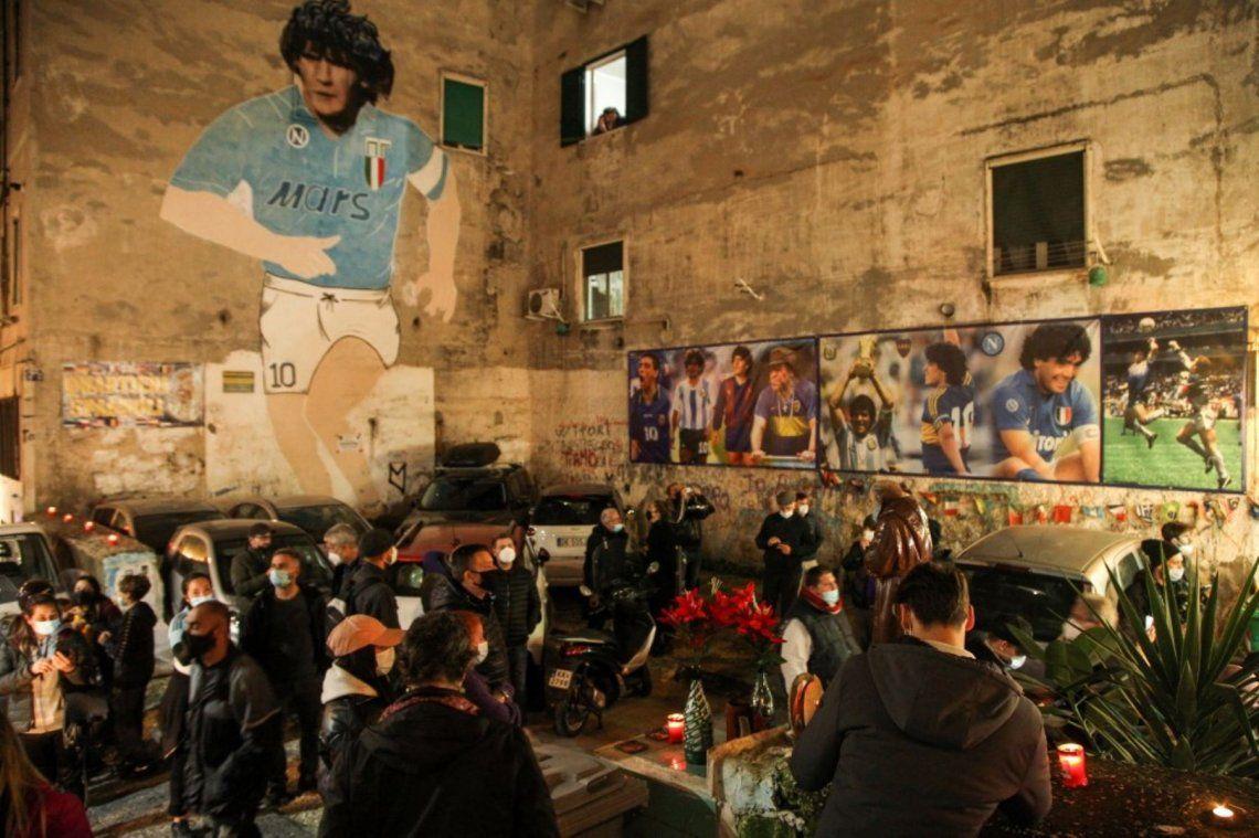 Diego Maradona: Napolés llora su muerte