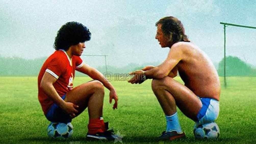 Menotti fue el primer técnico que puso a Diego en la Selección.