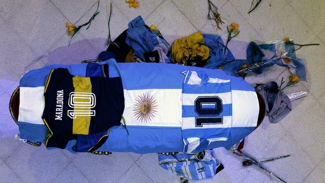 Los restos de Maradona serán trasladados a la brevedad a Bella Vista