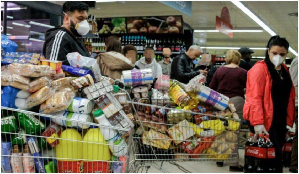 Las ventas en supermercados cayeron en septiembre