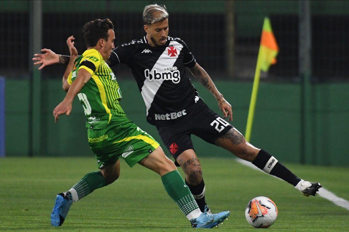 Defensa y Justicia rescató un punto en el final en el choque de octavos de final de la Copa Sudamericana