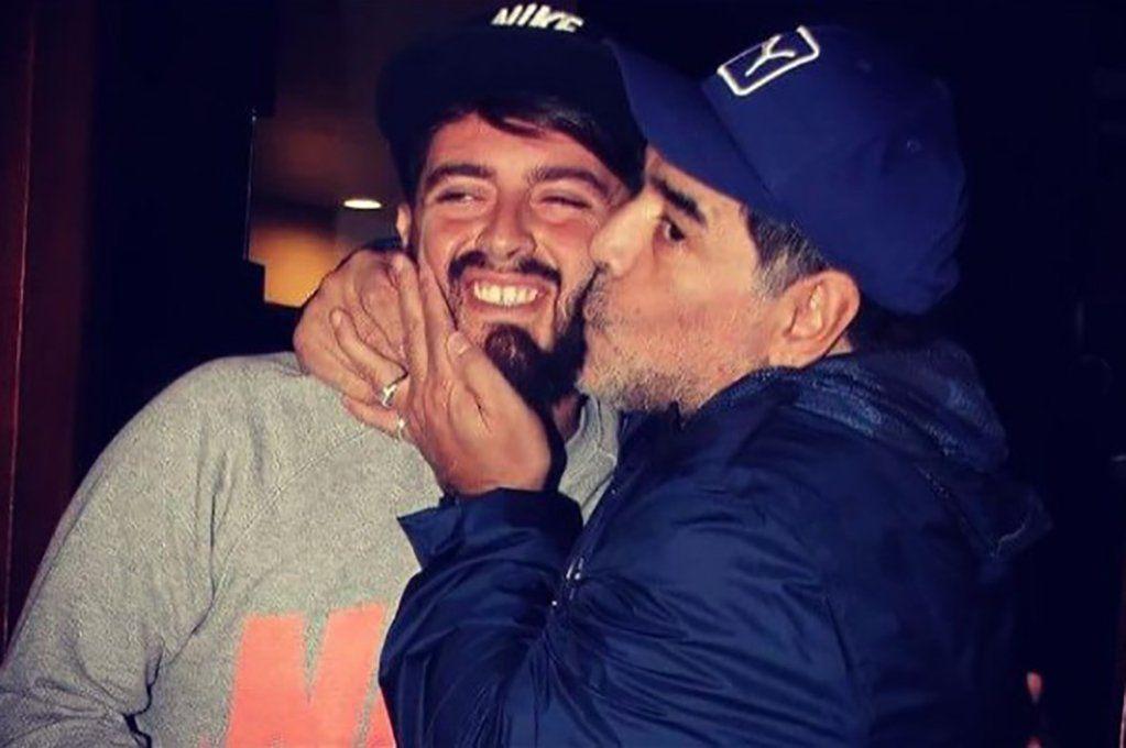 Diego Maradona Jr. despidió a su padre: Nunca vas a morir