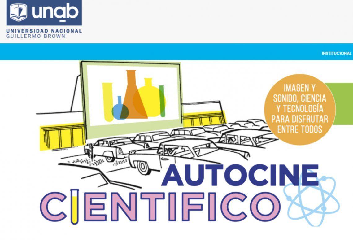 La Universidad Nacional Guillermo Brown organiza el primer Autocine Científico del país