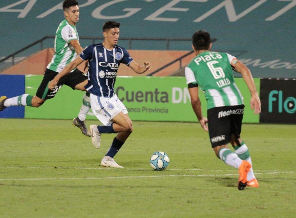 Godoy Cruz y Banfield aburrieron en Mendoza
