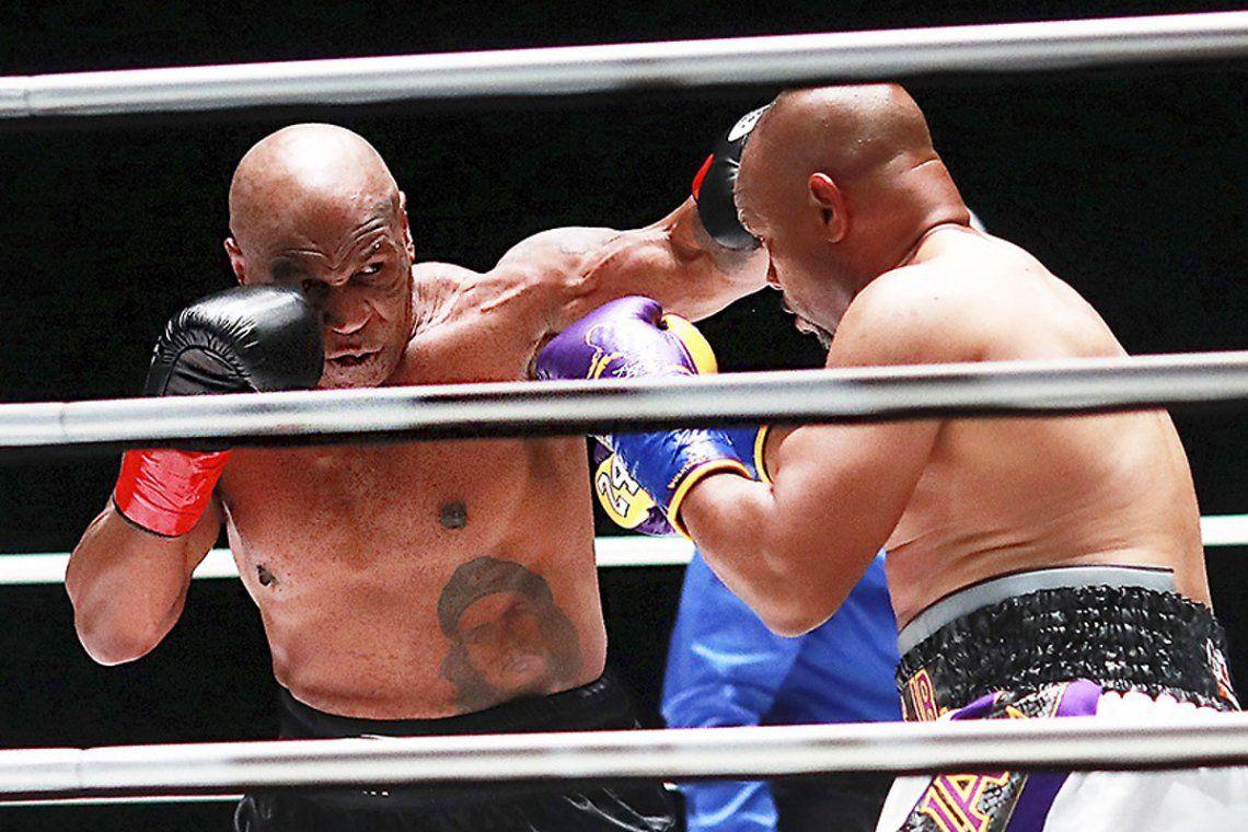 La vuelta de Mike Tyson al ring tras quince años