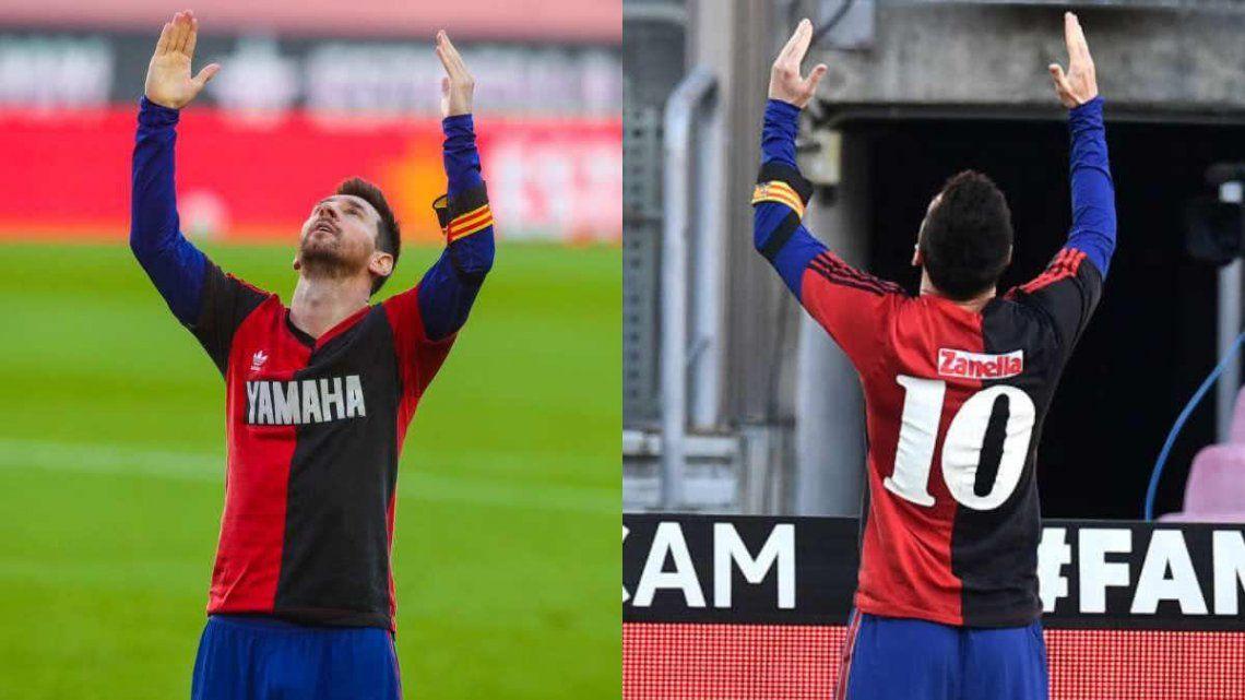 Lionel Messi y su emotivo homenaje a Diego Maradona
