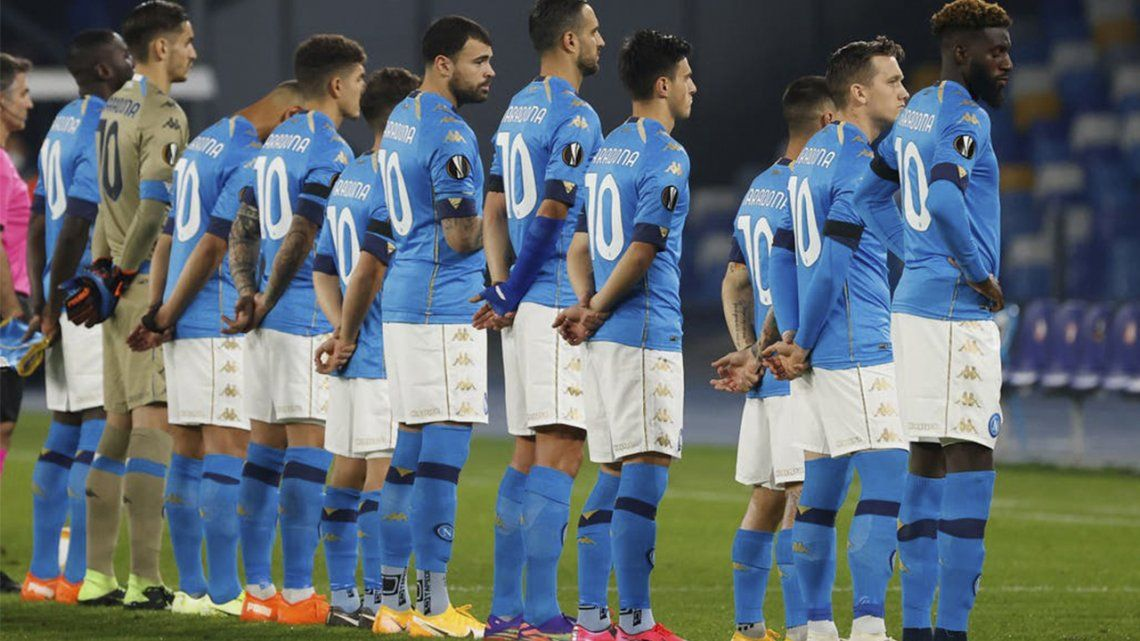 Nápoles no olvida. Diego Maradona tuvo su merecido homenaje.