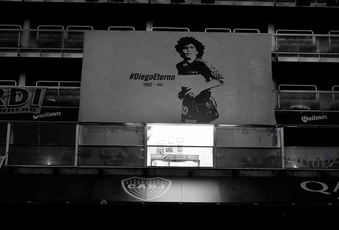 Diego Eterno: postales de una tarde especial en La Bombonera